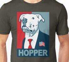 Feel The Hopper (Red White and Hopper) Unisex T-Shirt
