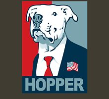 Feel The Hopper (Red White and Hopper) Unisex T-Shirt