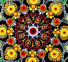 Zentangle Dot Mandala Sticker