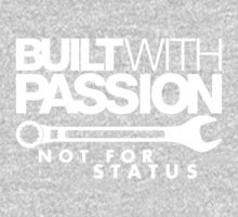 Built with passion Not for status (6) One Piece - Long Sleeve