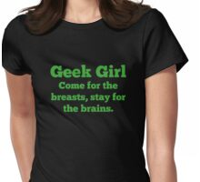 Geek Girl Womens Fitted T-Shirt