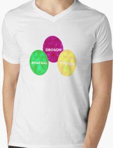 Game Of Thrones Dragon Eggs Mens V-Neck T-Shirt