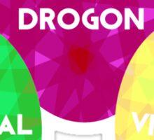 Game Of Thrones Dragon Eggs Sticker
