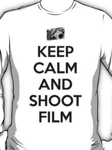 Keep calm and shoot film T-Shirt