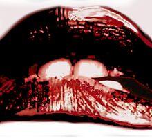 Rocky Horror Lips  by HrMarie