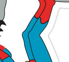 DC SUPER HEROES ( BATMAN VS SUPERMAN) Sticker