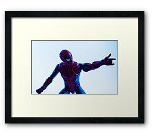 Spiderman: Peter Parker Framed Print