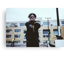 Jazz Cartier Knife Out Canvas Print
