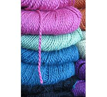 yarn shop Photographic Print