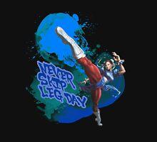 Street Fighter Chun Li Never Skip Leg Day Tank Top