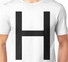 H Alphabet H Unisex T-Shirt
