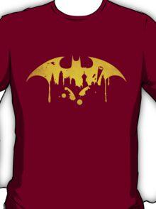Gotham City (Batman) (Yellow) T-Shirt