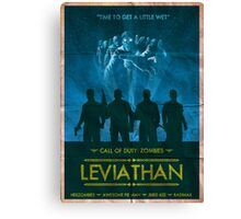 Call of Duty: Zombies Poster - Leviathan Canvas Print