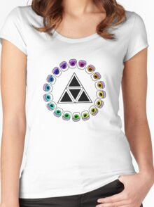 Spectrum Women's Fitted Scoop T-Shirt