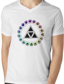 Spectrum Mens V-Neck T-Shirt