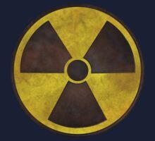 Radioactive Fallout Symbol - Geek Rusty Kids Tee
