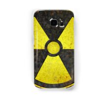 Beaten Radioactive Symbol - Hipster Geek Samsung Galaxy Case/Skin