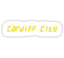 24 Cardiff City Sticker