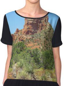 Sedona Landscape Chiffon Top