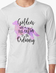 Extraordinary Golden Retriever Watercolor Long Sleeve T-Shirt