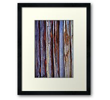 Old Wood Texture Framed Print