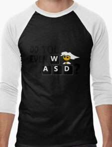 Steam PC Master Race Geek Do You Even WASD? Men's Baseball ¾ T-Shirt