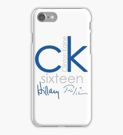 Clinton Kaine 2016 iPhone Case/Skin