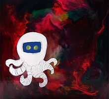 Octopus Lost in Space by Msmaddie