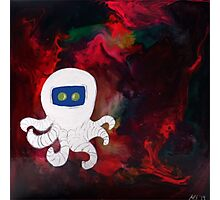 Octopus Lost in Space Photographic Print