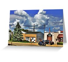 Intersection Greeting Card