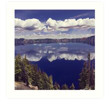 Crater Lake #2 Art Print