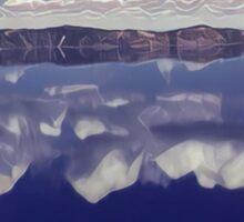Crater Lake #2 Sticker