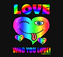 Love Who You Love Pride Is For Everyone Hipster Women's Relaxed Fit T-Shirt