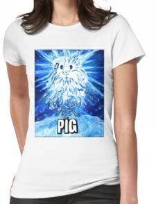 The Pig Womens Fitted T-Shirt