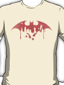 Gotham City (Batman) (Red) T-Shirt