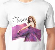 Taylor Swift Speak Now Signed Cover Unisex T-Shirt