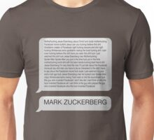 Game Grumps - MARK ZUCKERBERG (swear words) Unisex T-Shirt