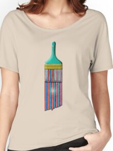 A Brush with Wet Paint Women's Relaxed Fit T-Shirt