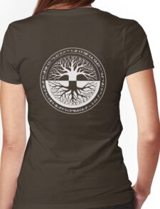 Tree_life_1 Womens Fitted T-Shirt
