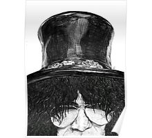 Slash Zoom Portrait Poster