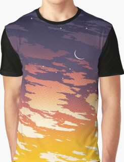 Summer Sunset - Dusk Graphic T-Shirt