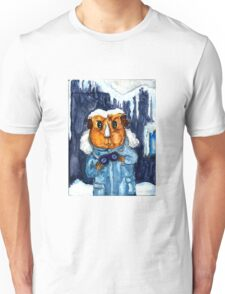The Pig - Peregrine in a winter coat Unisex T-Shirt