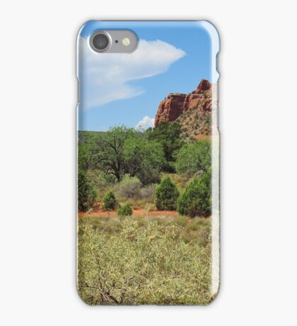Clouds over Sedona iPhone Case/Skin