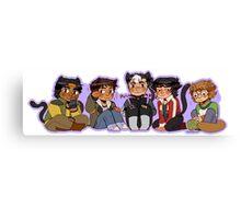 Voltron Kitties Canvas Print