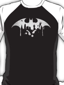 Gotham City (Batman) (White) T-Shirt
