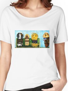 The Pig - Which of these guinea pigs has an alien inside them? Peregrine is totally going to find out. Women's Relaxed Fit T-Shirt