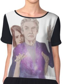 Clara Oswald and The Doctor Chiffon Top