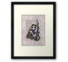 Snow White Framed Print