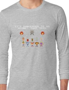 PS Pixel heroes Long Sleeve T-Shirt
