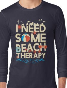 BEACH THERAPY Long Sleeve T-Shirt